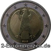 übersicht Der 2 Euro Umlaufmünzen Und 2 Euro Gedenkmünzen Aus