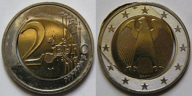 2 Euro Fehlprägungen
