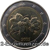 übersicht Der 2 Euro Umlaufmünzen Und 2 Euro Gedenkmünzen Aus Finnland