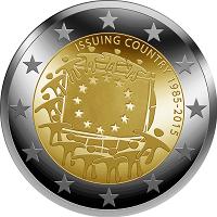 übersicht Der 2 Euro Umlaufmünzen Und 2 Euro Gedenkmünzen Aus Irland