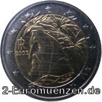 übersicht Der 2 Euro Umlaufmünzen Und 2 Euro Gedenkmünzen Aus Italien