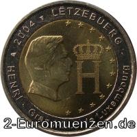 übersicht Der 2 Euro Umlaufmünzen Und 2 Euro Gedenkmünzen Aus Luxemburg