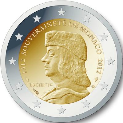 übersicht Der 2 Euro Umlaufmünzen Und 2 Euro Gedenkmünzen Aus Monaco