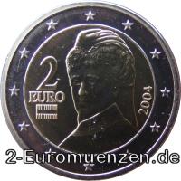 übersicht Der 2 Euro Umlaufmünzen Und 2 Euro Gedenkmünzen Aus österreich