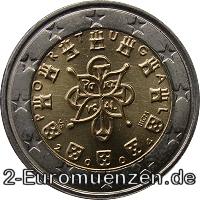 2 Euro Portugal 2002 Fehlprägung Nora Kdesign