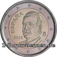 übersicht Der 2 Euro Umlaufmünzen Und 2 Euro Gedenkmünzen Aus Spanien