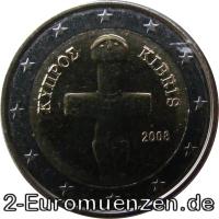 übersicht Der 2 Euro Umlaufmünzen Und 2 Euro Gedenkmünzen Aus Zypern